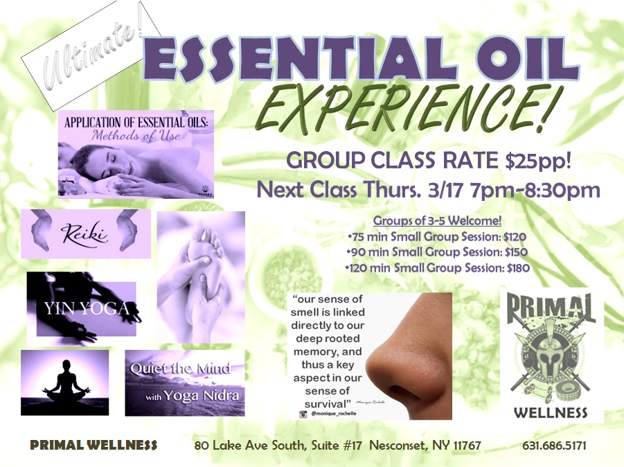Ultimate Essential Oil Experience