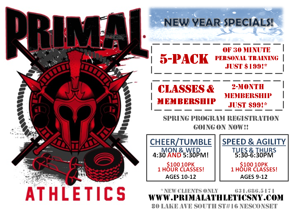 PA New Year Specials